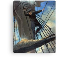 Portrait of Admiral Farragut Canvas Print