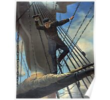 Portrait of Admiral Farragut Poster