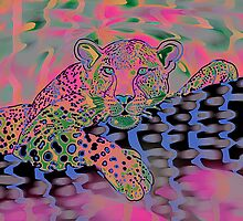 Popart Leopard 2 (all styles animals series) by Marilyns