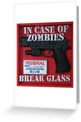 In case of zombies... by Sam Smith
