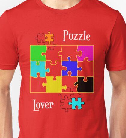 Puzzle Lover Unisex T-Shirt