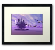 Attack on bubbled City Framed Print