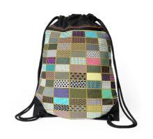 BEAUTIFUL SAMPLER of GEOMETRIC ART by ALICE Drawstring Bag