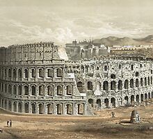 Roman Coliseum by Vintage Works