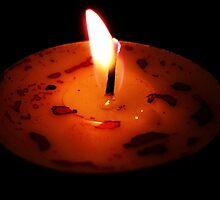 Lighting my love by Rebecca Kingston
