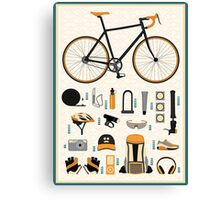 Bike gear Canvas Print
