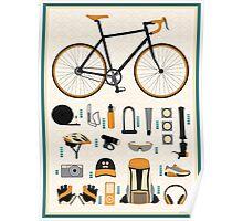 Bike gear Poster