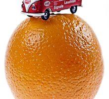 Orange Camper! by Jay Payne