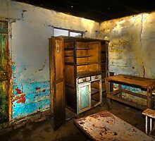 Inside the Old Ganger Cottage. by Warren. A. Williams