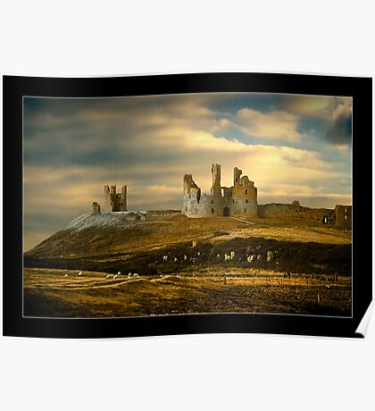 Dunstanburgh Castle - Northumberland Poster