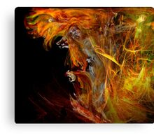 Fire Walk With Me Canvas Print