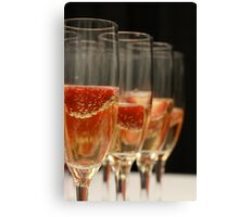 Catering Toast Canvas Print