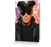 cop Greeting Card