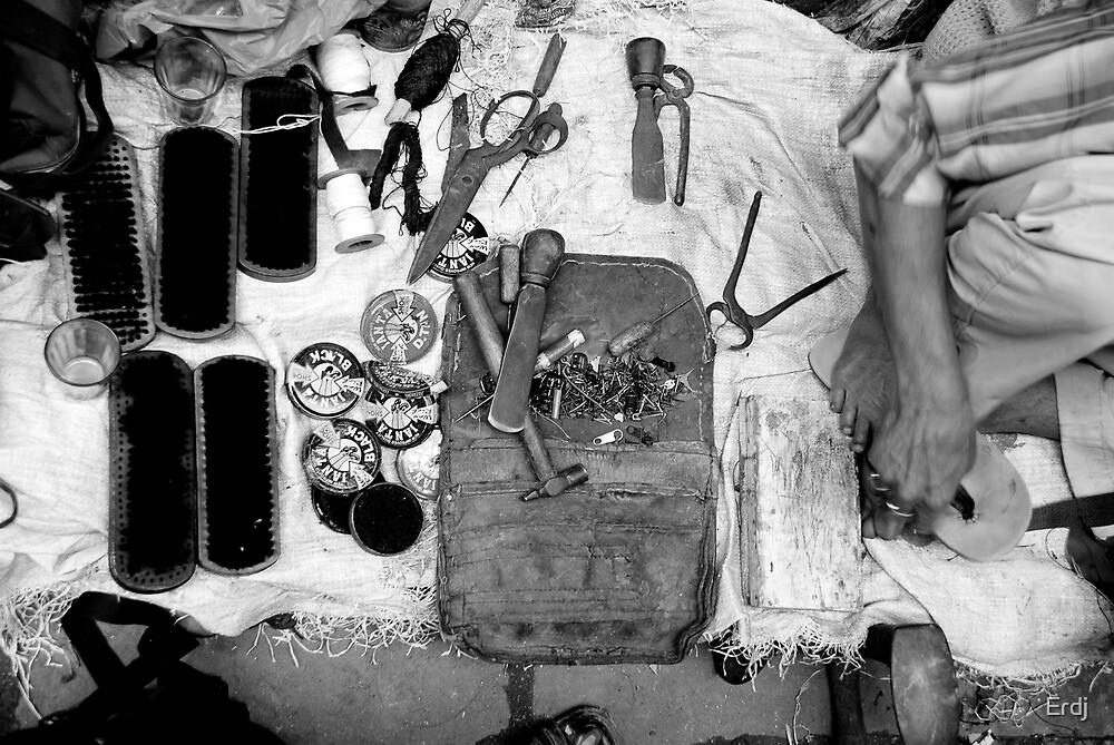 sandles and tools  by Erdj
