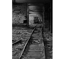 The last train Photographic Print