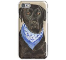 Max the Labrador  iPhone Case/Skin