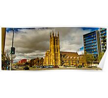 South Australia - St Francis Xavier's Cathedral - Adelaide Poster