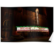 Downtown Theater - Alive! Poster