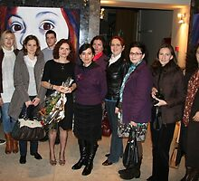 My Students at Opening Night by Magda Vacariu