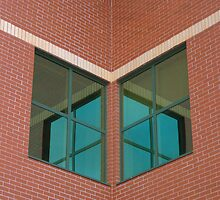 Brick and Green Glass by murrstevens