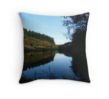 Forestry Lake Throw Pillow