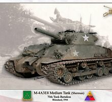 US Medium Tank M-4 (Sherman) by A. Hermann