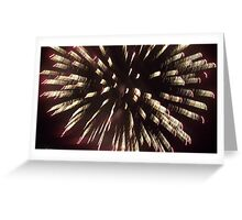 Firework 4 Greeting Card