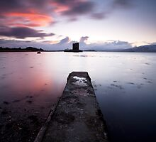 Castle Stalker - Scotland by Doug Chinnery