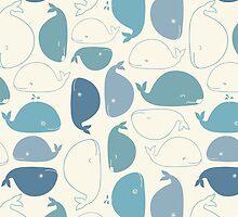 yay whales! by Dinara May