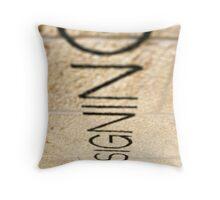 Keep Designing Throw Pillow