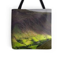 The valley at Tal y Llyn - North Wales Tote Bag