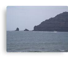 Punta Fariones, Lanzarote, Canary Islands Canvas Print