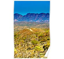South Australia - Flinders Ranges - Brachina Gorge drive 10 Poster