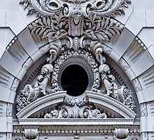 Architectural flourish by Susana Weber