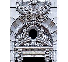 Architectural flourish Photographic Print