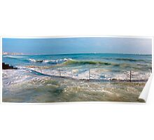 sea curve Poster