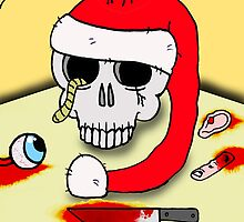 Rotting away on Christmas day by stitchgrin