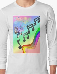 Musical Staircase  Long Sleeve T-Shirt