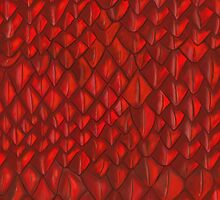 Game of Thrones - Red Dragon Scales by emmafifield
