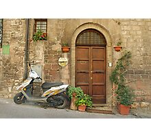Assisi Doorway - Italy Photographic Print