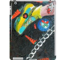 A risky step iPad Case/Skin