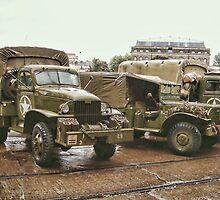 American World War II  Military Trucks by Alex Hardie