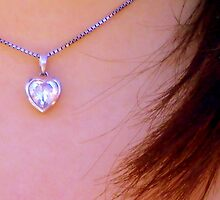Necklace from the heart by jessiebabii69