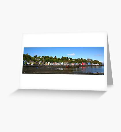 Tobermory Harbour Greeting Card