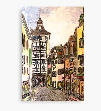 Kontanz, Germany Canvas Print