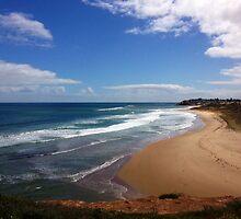 Port Noarlunga Beach by Cindy Hitch