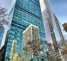 Sixth Avenue Reflections by joan warburton