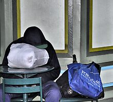 The Blue Bag by joan warburton