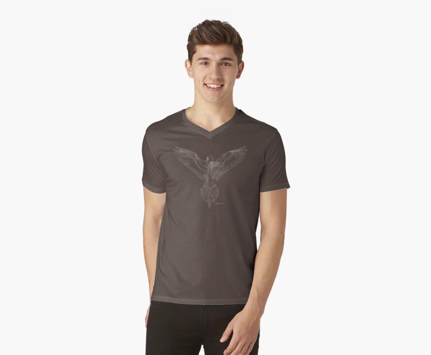 Mourning Dove (dark shirts) by Stephanie Smith