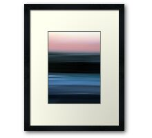 Time in Motion Framed Print